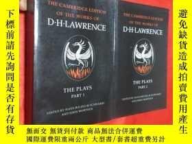 二手書博民逛書店The罕見Plays Parts 1 and 2 (小16開)