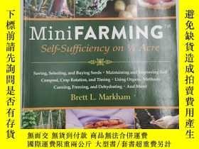 二手書博民逛書店Mini罕見Farming: Self-Sufficiency