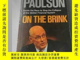 二手書博民逛書店On罕見the Brink: Inside the Race t