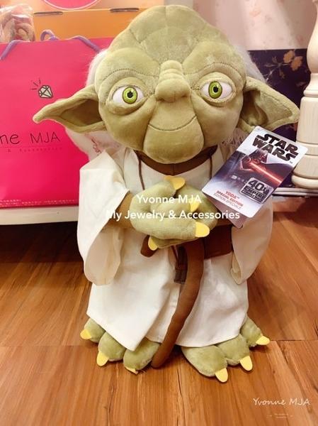 Yvonne MJA美國迪士尼Disney商品預購區 星際大戰 天行者 尤達大師 17寸娃娃
