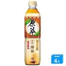 原萃日式焙茶580ml x4罐【愛買】