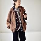 連帽針織衫 鼠兜外穿毛衣 加厚針織開衫外套/5色-夢想家-W1322C-0105