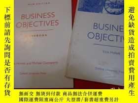 二手書博民逛書店BUSINESS罕見OBJECTIVES(+work book)