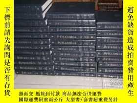 二手書博民逛書店Encyclopaedia罕見Britannica 特精裝32卷