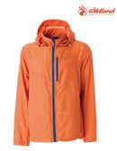 荒野 Wildland 防曬/ 抗UV50+ 紫外線/ 薄外套 雙向彈性 ~ 橘色 (0A51996-84) (男)
