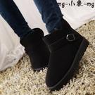 MG 防滑保暖短筒雪地靴平底短靴冬靴