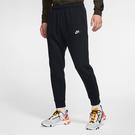 Nike Sportswear Club 男裝 長褲 慢跑 休閒 刷毛 保暖 拉繩 縮口 黑【運動世界】 BV2672-010