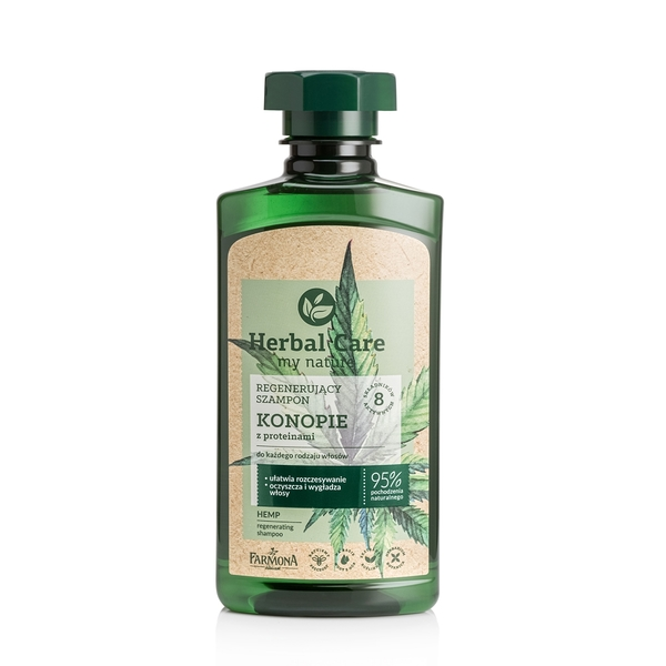 Herbal Care 大麻籽油植蘊潤澤洗髮露