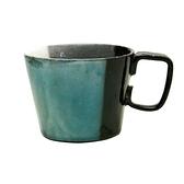 【日本製】泉工藝市松系列 陶製馬克杯 綠色 SD-6217 -
