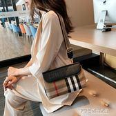 小包包女 新款韓版時尚洋氣女包復古簡約小方包女士單肩斜背包 探索先锋