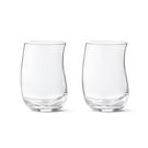 丹麥 Georg Jensen Cobra Tumbler, Medium 2pcs 婀娜 流線 玻璃水杯 兩件組 中尺寸