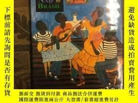 二手書博民逛書店A罕見arte naif no Brasil (Portugue