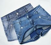 牛仔褲裙顯瘦半身裙褲裙假兩件熱褲【熊貓本】