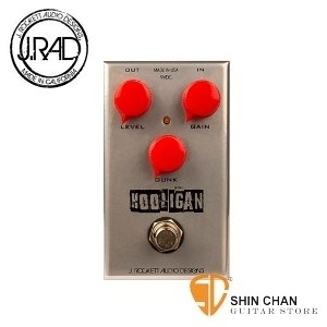 【法滋效果器】【J.RAD Hooligan Fuzz】【美國手工品牌 (J.Rockett Audio Designs)】【JRAD/HLGN】
