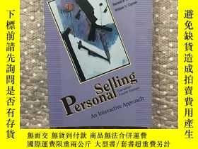 二手書博民逛書店Personal罕見selling An Interactive Approach(16開)Y177057