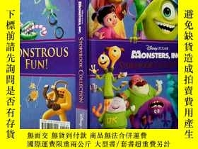二手書博民逛書店MONSTERS罕見INC STORYBOOK COLLECTI