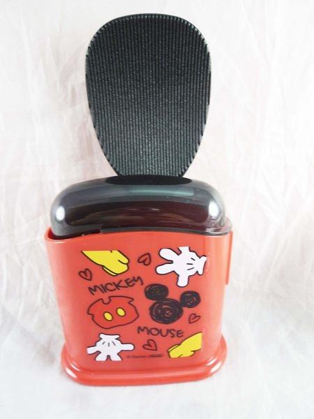 【震撼精品百貨】Micky Mouse_米奇/米妮 ~飯匙-黑紅【共1款】