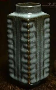[協貿國際]  青瓷吉祥瓶收藏擺件 (1入)