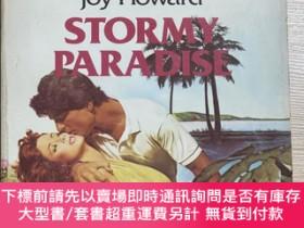 二手書博民逛書店【英文原版小說】STORMY罕見PARADISE by Joy HowardY36275 Joy Howard