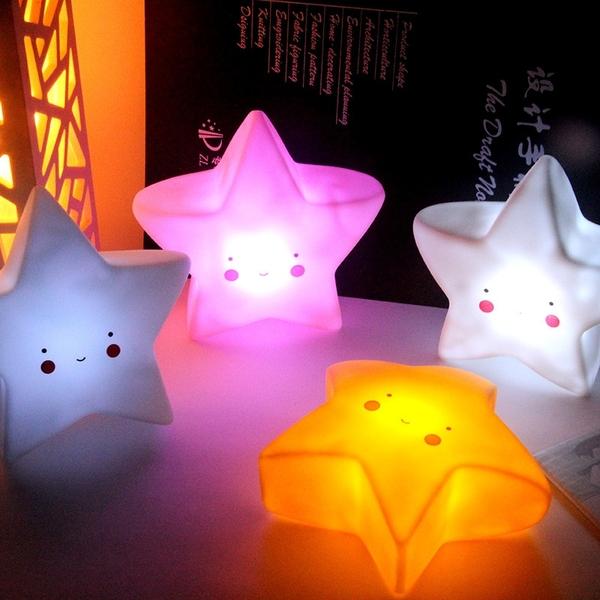 台灣現貨 INS造型小夜燈 附電池 多款 雲朵 星星 月亮 小夜燈 矽膠燈 LED夜燈 餵奶燈 展示燈