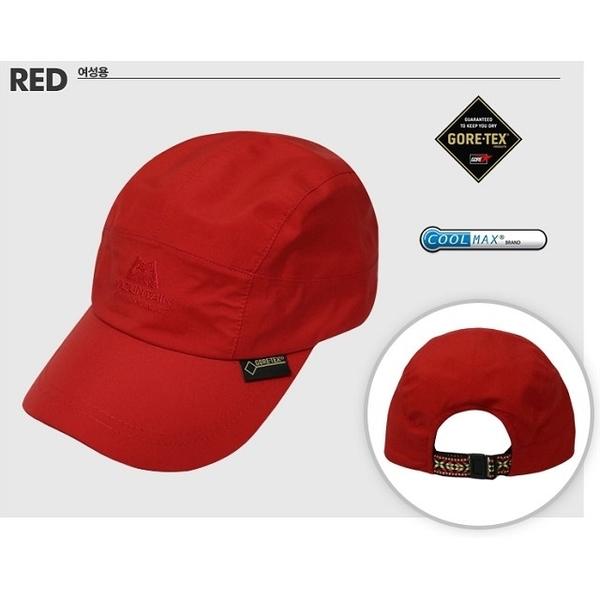 Mountain Equipment 英國 韓版 AD阿迪爾 防水透氣棒球帽 MEKH0064 正紅 旅遊 登山 Goretex 防水帽【易遨遊】
