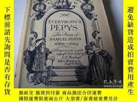 二手書博民逛書店Everybody s罕見Pepys---The Diary o
