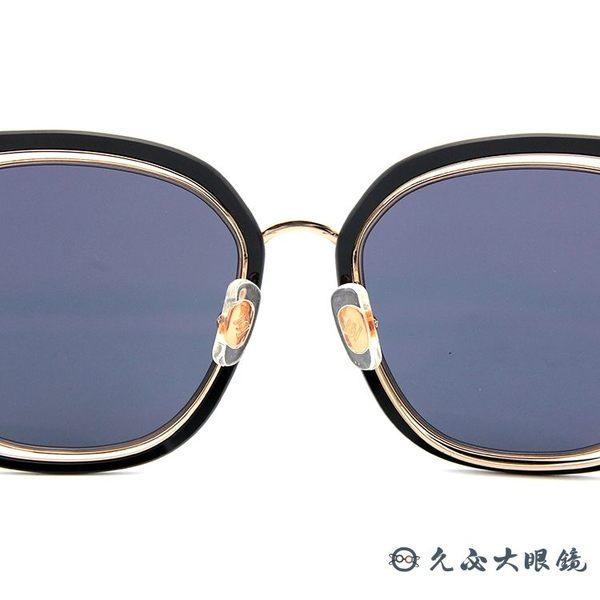 HELEN KELLER 林志玲代言 H8819 N23 (透灰-玫瑰金) 方框 太陽眼鏡 久必大眼鏡