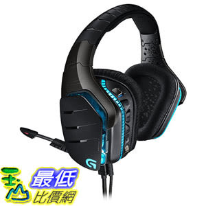 [美國直購] Logitech G633 Artemis Spectrum RGB 7.1 Surround Sound Gaming Headset (981-000586) 耳機