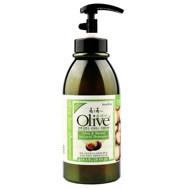 韓國【Olive】750ml 橄欖草本萃取液洗髮精【 imselene英絲林】