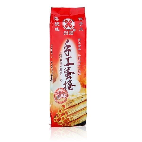【南紡購物中心】【美雅宜蘭餅】手工蛋捲-原味x2盒