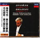 國際中文版169 德弗札克:第八號交響曲 布拉姆斯:第三號交響曲 CD(音樂影片購)