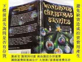 二手書博民逛書店wondrous罕見christmas stories:奇妙的聖誕故事Y212829
