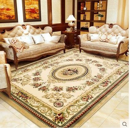 歐式地毯客廳沙發茶几墊臥室滿鋪床邊長方形簡約現代田園美式家用【2.0×2.8米 密度400V】