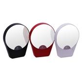 LED化妝鏡帶燈10倍放大高清含吸盤浴室用品 梳妝專用 青木鋪子