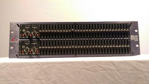 【敦煌樂器】DBX IEQ-31 31段EQ等化器