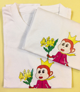女星文汶設計 猴爺文創可愛純棉猴T
