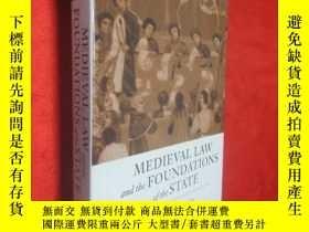 二手書博民逛書店Medieval罕見Law and the Foundation
