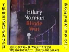 二手書博民逛書店德語原版罕見Blinde Wut von Hilary Norm