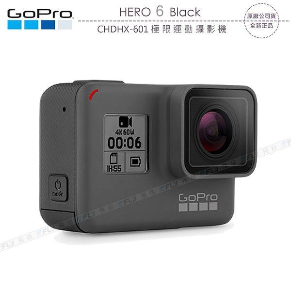 《飛翔3C》GoPro HERO6 Black CHDHX-601 極限運動攝影機〔公司貨〕HERO 6