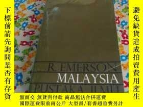 二手書博民逛書店MALAYSIA罕見A A Study in Direct an