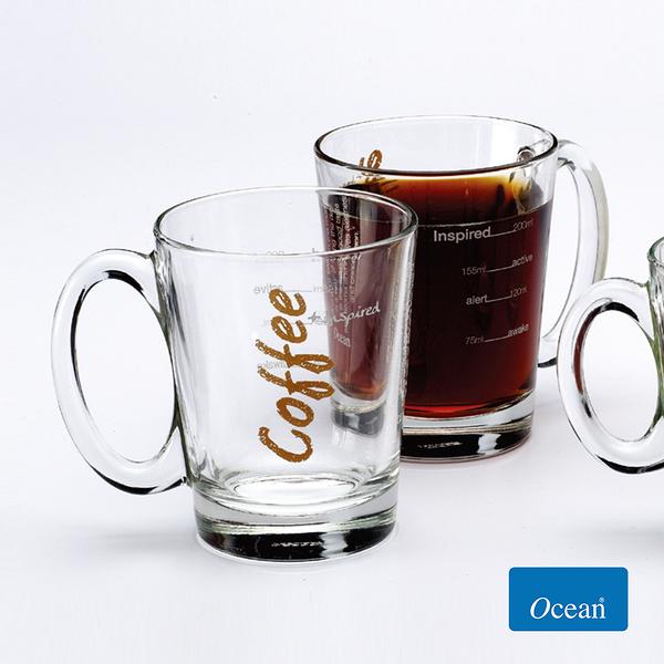 Ocean GET ACTIVE咖啡玻璃杯315cc-2入組