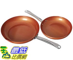 [8美國直購] 不沾鍋 Copper Chef Round Pan- 10 and 12 Inch 2 Pack B01LOUMRW8