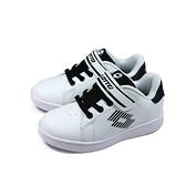 LOTTO 運動鞋 網球鞋 魔鬼氈 白色 大童 童鞋 LT8AKR6988 no040