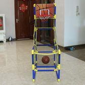 籃球架兒童家用投籃機玩具室內外籃球機成人遊戲機可折疊籃球架運動球類igo小宅女