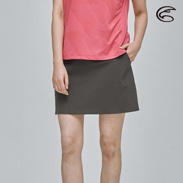 ADISI 女彈性快乾機能穿搭短裙AD2111020 (S-2XL) / 四面彈 排汗速乾 輕薄透氣 休閒裙