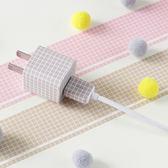 【BlueCat】箭頭量尺單色小網格紙膠帶 手帳貼紙