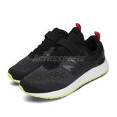 New Balance 慢跑鞋 Fresh Foam Arishi V3 寬楦 黑 白 童鞋 中童鞋 運動鞋 【ACS】 YAARICL3W