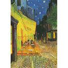 【P2 拼圖】世界名畫系列 梵谷-夜晚的露天咖啡座 夜光拼圖 1000片 HM1000-135