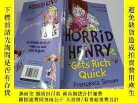 二手書博民逛書店horrid罕見henry gets rich quick:可怕的亨利很快就發財了Y212829 不祥 不祥