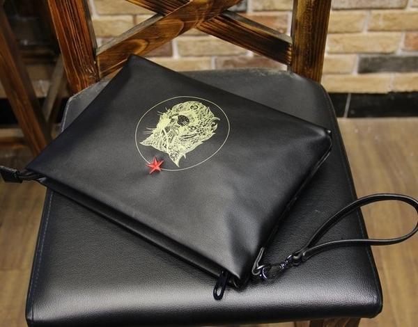FINDSENSE 韓國男包 G6出差旅遊公事包男用休閒包包磨砂皮手拿包文件包時